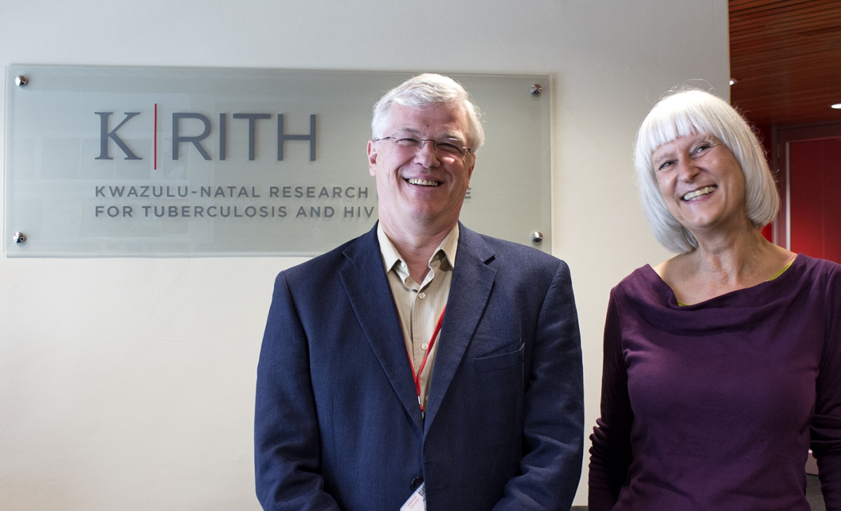 Nature's Dr Ursula Weiss visits K-RITH