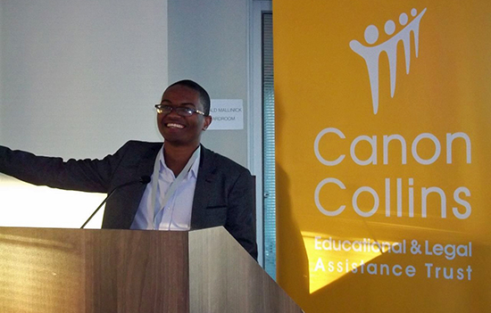 K-RITH student presents at Canon Collins annual conference