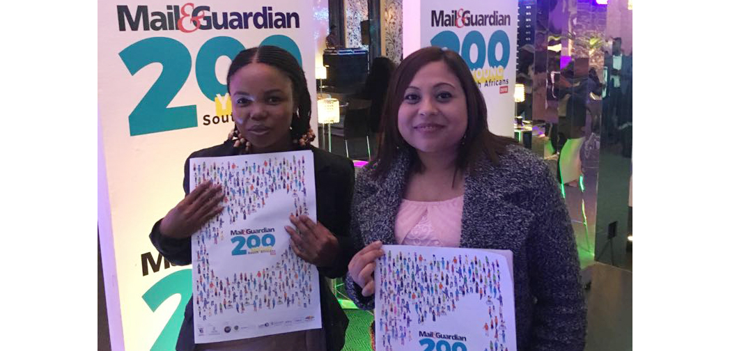Two AHRI researchers named on Mail & Guardian's '200 Young South Africans' list