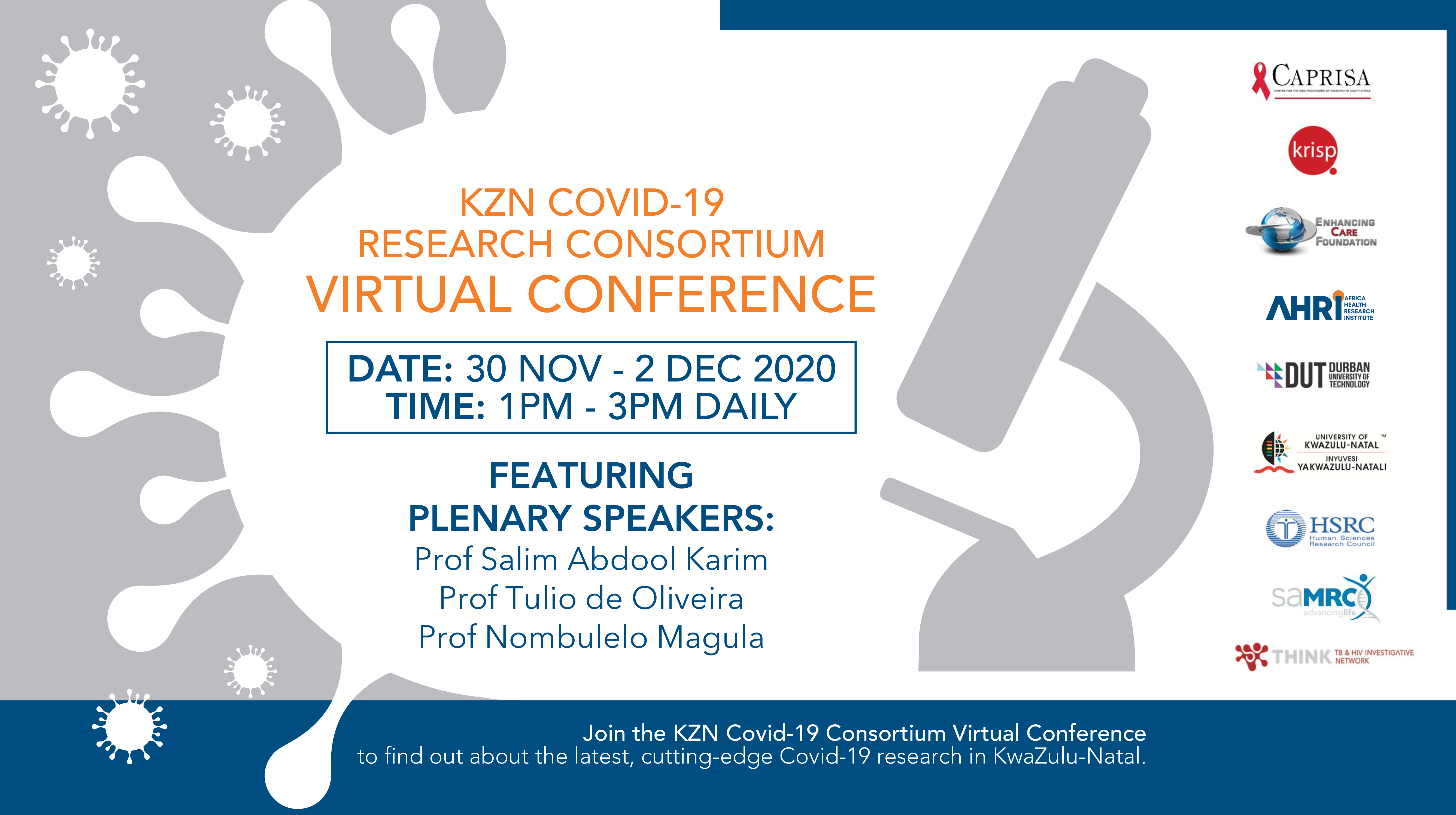 KZN Covid-19 Research Consortium Virtual Conference