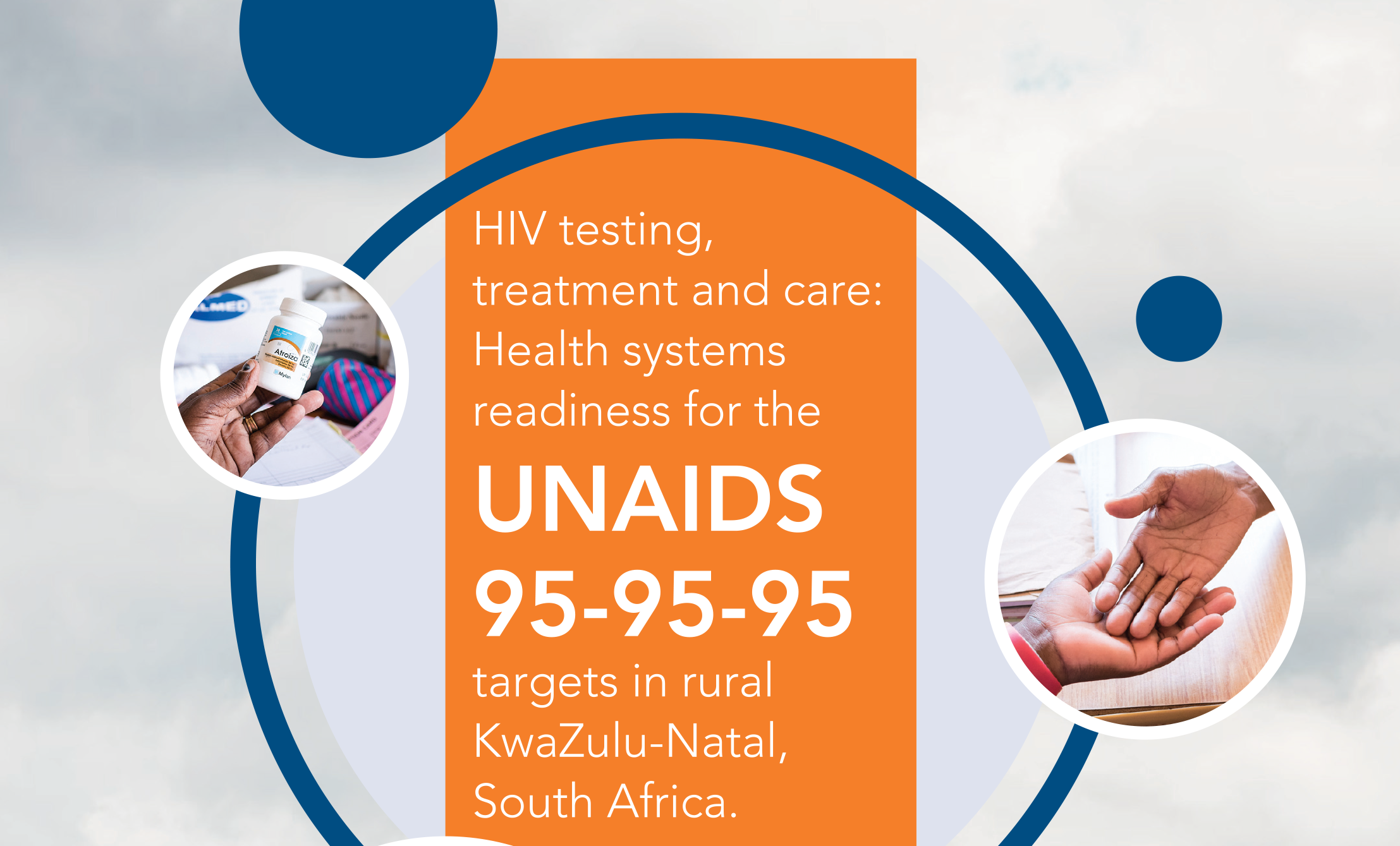 Health systems readiness for the UNAIDS '95' targets in rural KwaZulu-Natal
